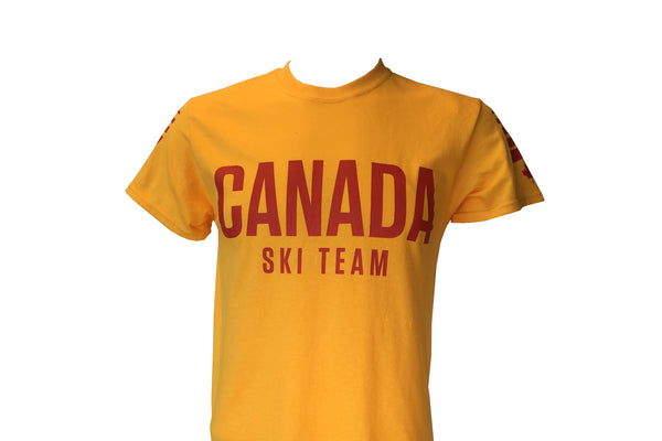 Can Ski Team Retro Tee
