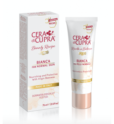 Cera Di Cupra Beauty Recipe BIANCA CREAM FOR NORMAL AND GREASY SKIN TUBE (75 ML)