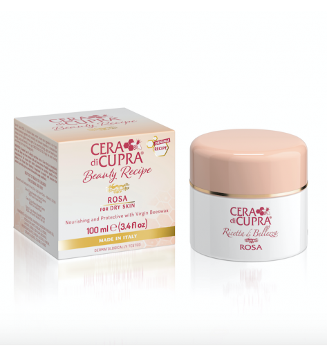 Cera Di Cupra Beauty Recipe Antiaging Cream ROSA CREAM FOR DRY SKIN JAR (100ML)