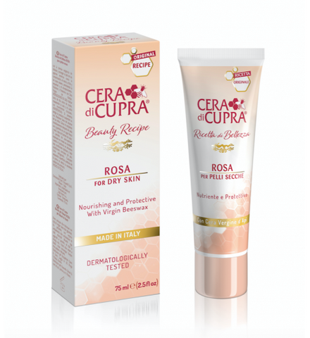 Cera Di Cupra Beauty Recipe ROSA CREAM FOR DRY SKIN TUBE (75 ML)