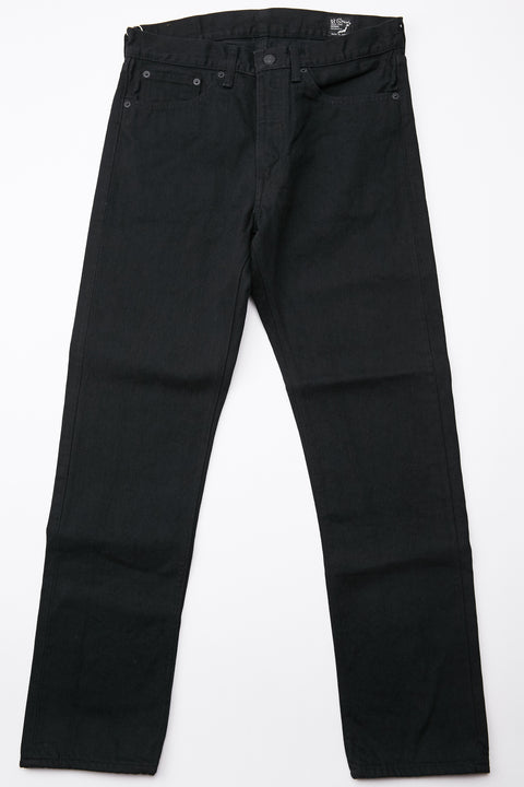 orSlow 107 Ivy Fit Slim Jean - Black