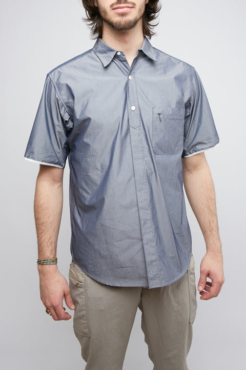 Nanamica Wind H/S Shirt - Navy - Totem Brand Co.