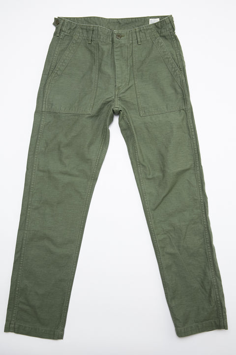 OrSlow Slim Fit Fatigue Pants - Olive - Totem Brand Co.