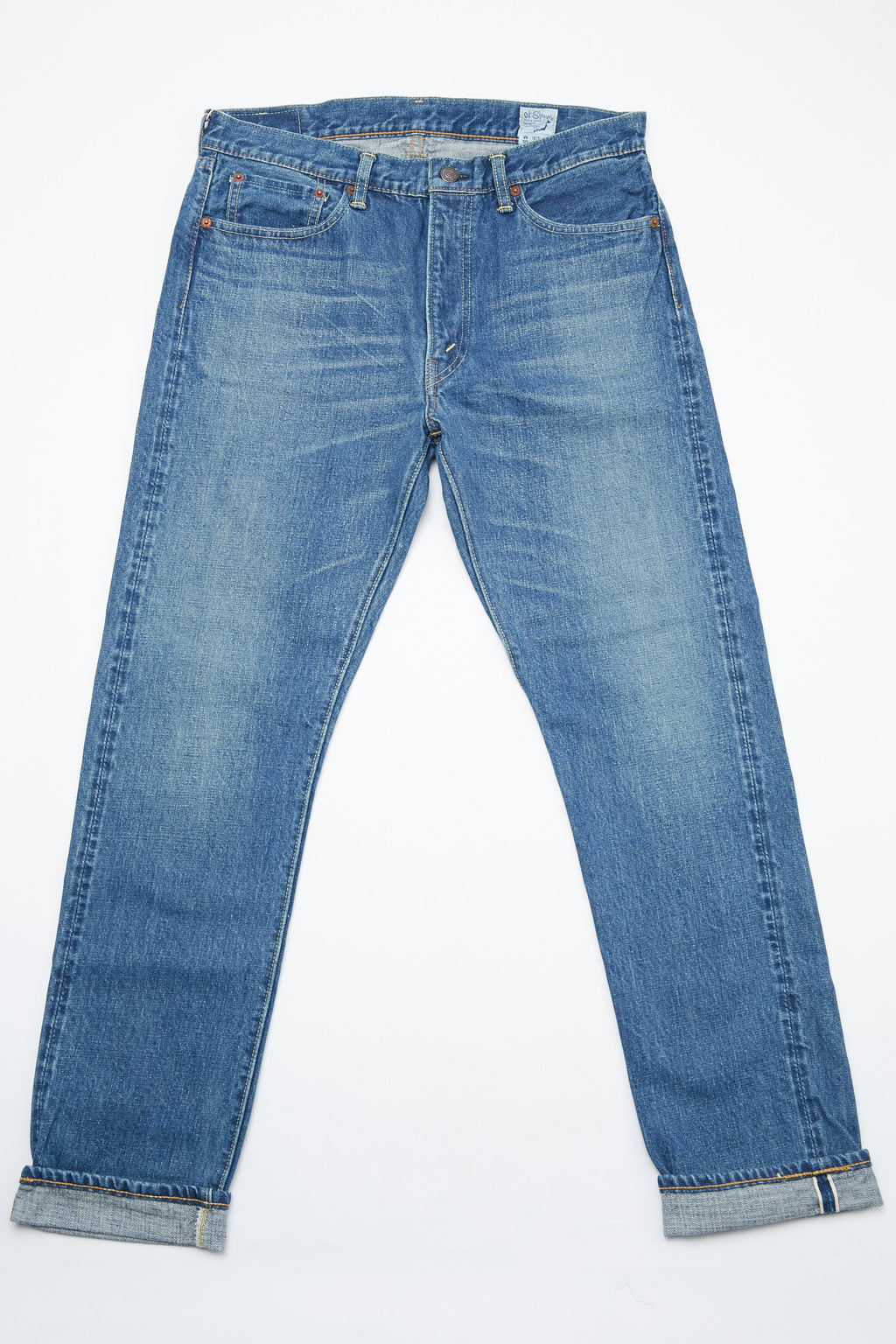 orSlow 107 Ivy Fit Slim Jean - 2 Year Wash