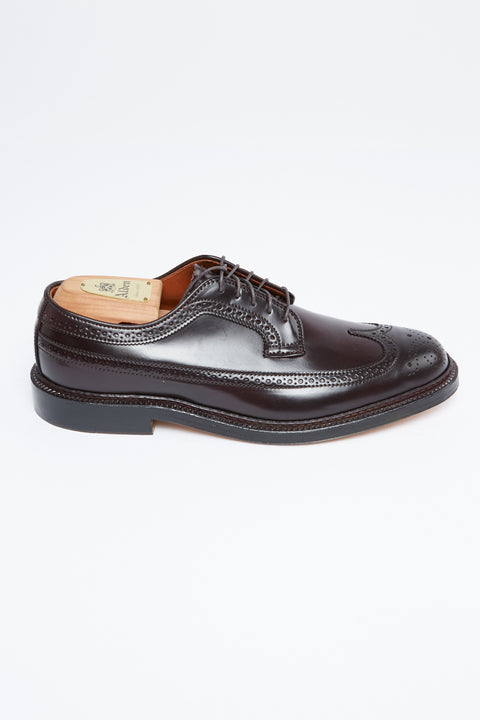 Alden Men's 975 Long Wing Blucher (Color 8 Shell Cordovan) - Totem Brand Co.