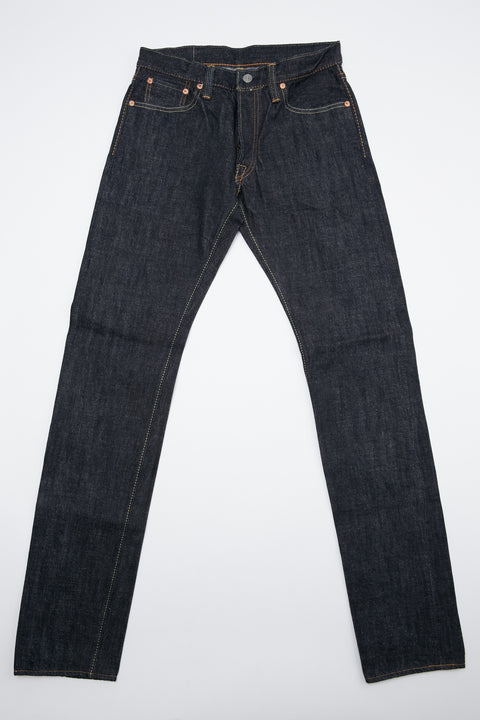 Pure Blue Japan XX-013 14 oz. Slim Tapered - Indigo with One Wash