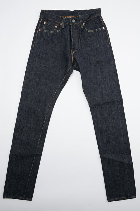 Pure Blue Japan XX-019 14 oz. Relaxed Tapered - Indigo with One Wash