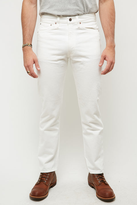 orSlow 107 Ivy Fit Slim Jean - White - Totem Brand Co.