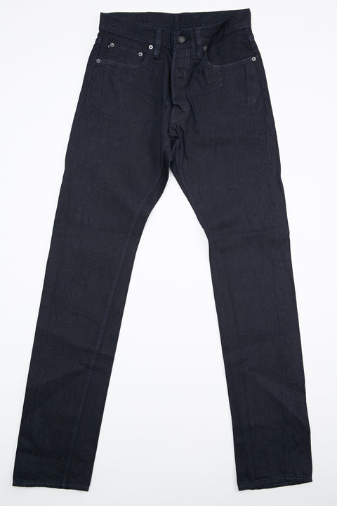 Pure Blue Japan XX-019-WID 14 oz. Relaxed Tapered - Deep Indigo with One Wash