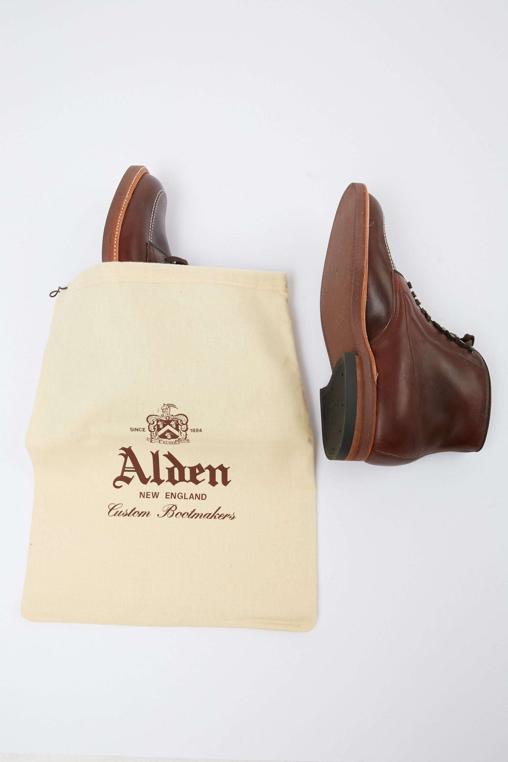 Alden 403 Indy Boot in Brown Chromexcel