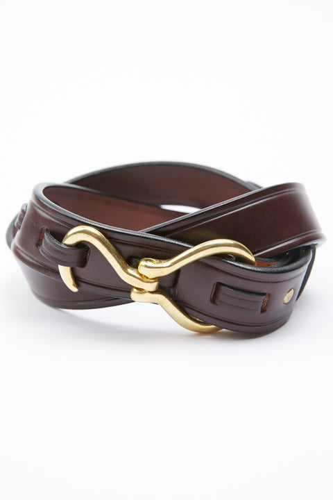 Tory Leather Hoof Pick Belt - Havana (2260)