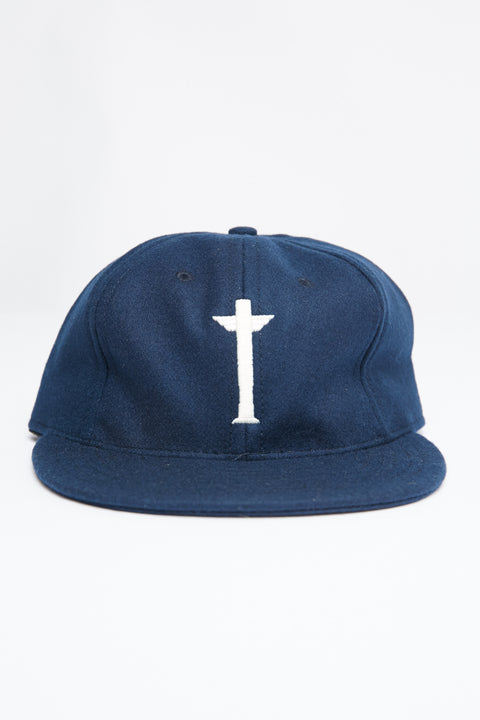 TOTEM BRAND CO. CAP - ADJUSTABLE - NAVY WOOL - EXCLUSIVE - Totem Brand Co.
