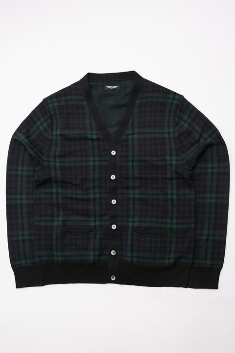 Meticulous Knitwear Woodstock Combo - Navy/Green/Black Plaid