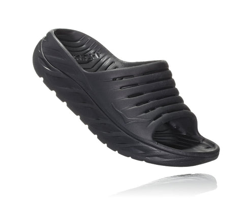Hoka One One Women's ORA Recovery Slide - Black/Black