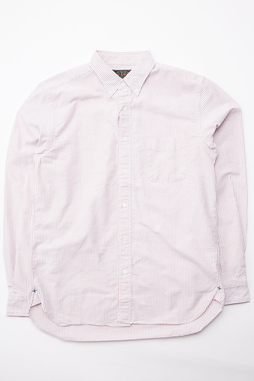 Beams Plus BD Candy Stripe - Wine
