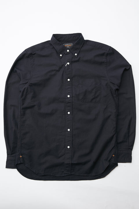 Beams Plus B.D. Color Oxford Shirt - NAVY