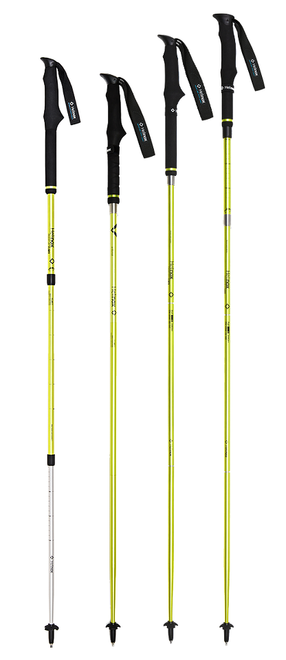 Helinox Passport FL120 Walking Poles - Melon