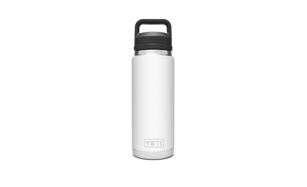 YETI RAMBLER 26 OZ BOTTLE WITH CHUG CAP - White