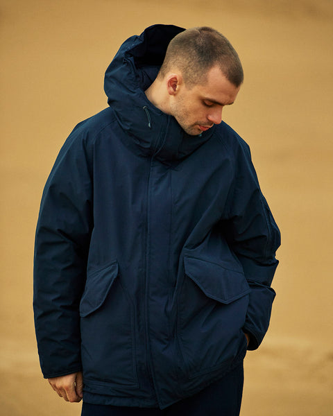 Nanamica GORE-TEX Down Coat - Navy