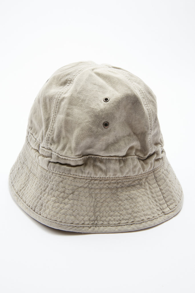 Kapital KATSURAGI Cotton Bucket Hat (Ashbury Dyed) - Natural/Grey