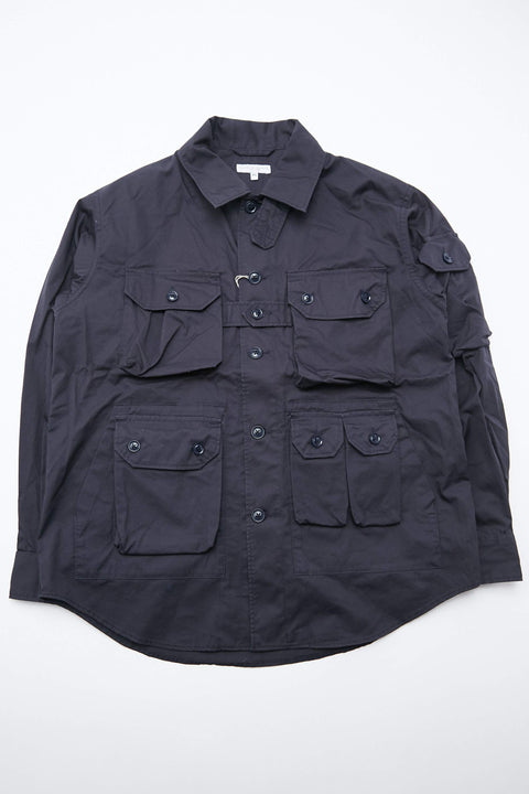 Engineered Garments Explorer Shirt Jacket - Dk. Navy High Count Twill