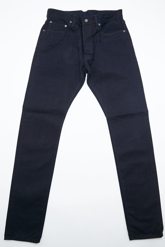 Pure Blue Japan 1150-ID - Men's Woven 12oz Selvedge Twill Chino Relaxed Tapered with One Wash - Indigo