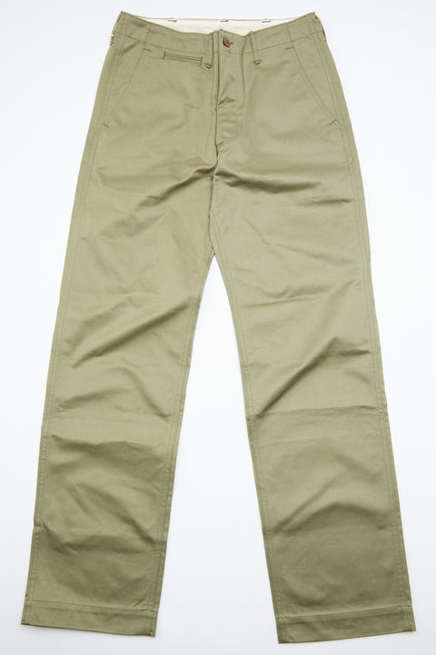 Warehouse & Co. Lot 1082 Duck Digger Chinos - West Point (Green)