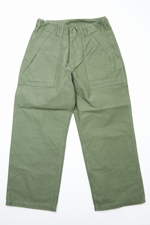 Beams Plus MIL Utility Trousers - OLIVE DRAB