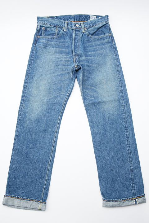 orSlow 105 Standard Fit Jean - 2 Year Wash