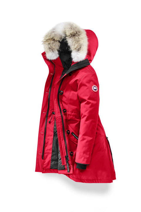 CANADA GOOSE WOMEN'S ROSSCLAIR PARKA - Red