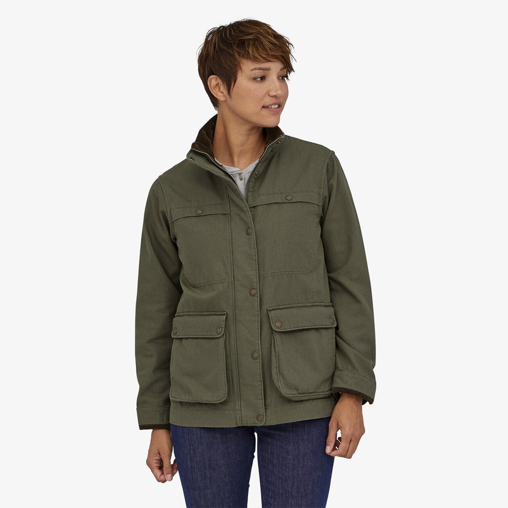 Patagonia Women's Prairie Dawn 3-in-1 Barn Coat - Basin Green