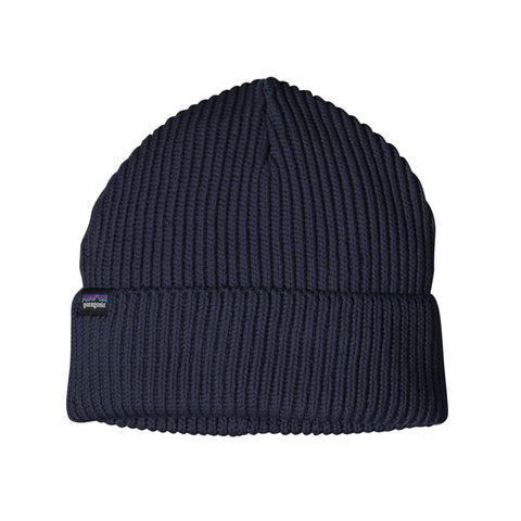 Patagonia Fisherman's Rolled Beanie - Navy Blue - Totem Brand Co.