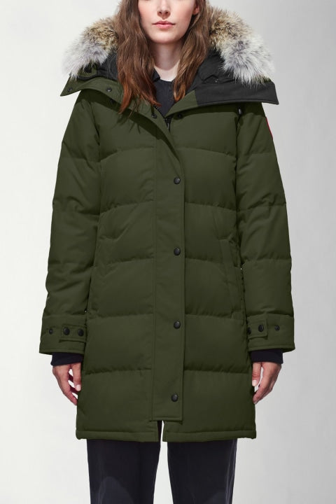 CANADA GOOSE WOMEN'S SHELBURNE PARKA - MILITARY GREEN