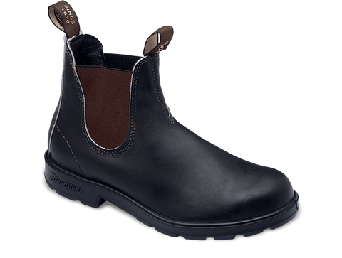 Blundstone Men's Style 500 Elastic Sided V-Cut Boot - Stout Brown