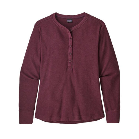Patagonia Women's Waffle Henley - Light Balsamic