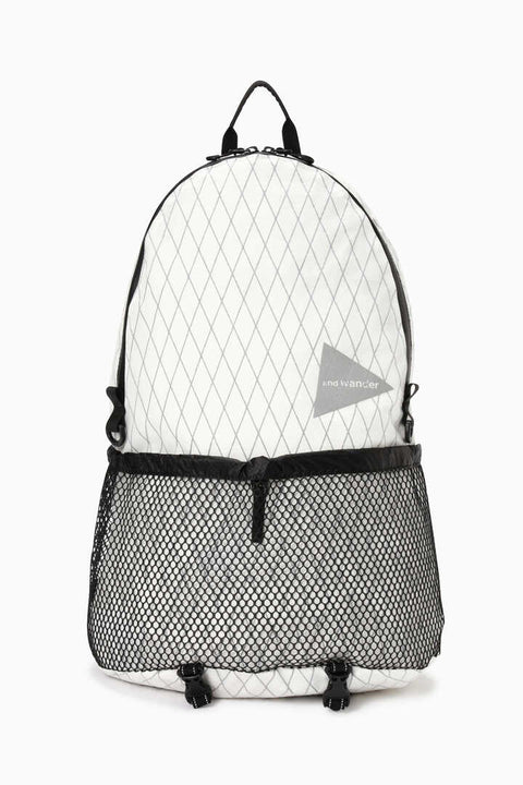 And Wander X-Pac 20L daypack- Off White