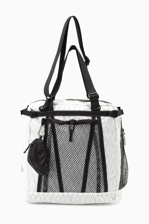 And Wander X-Pac 25L 3way tote bag - Off White