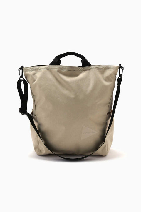 And Wander heather 2way totebag - Beige