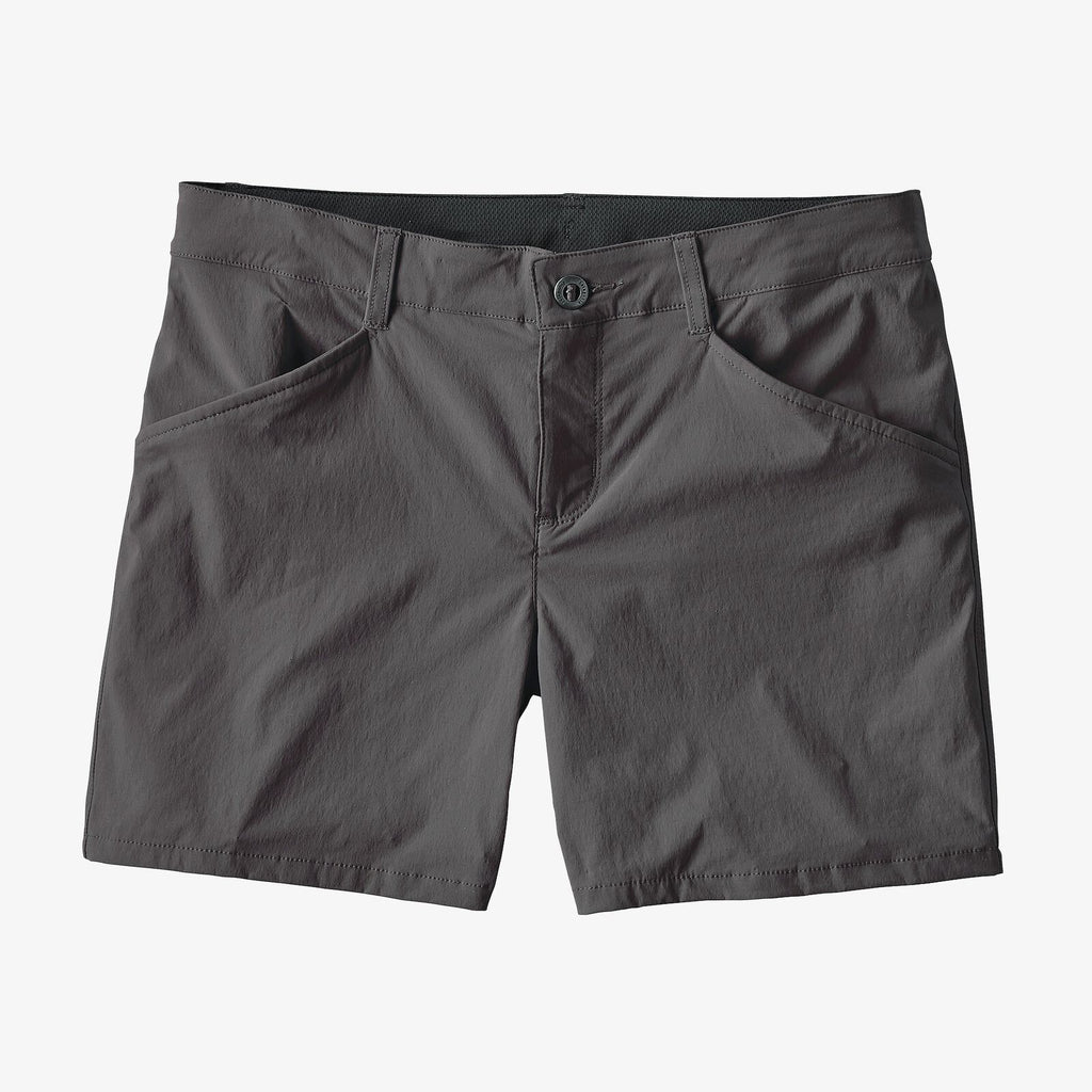 "Patagonia Women's Quandary Shorts - 5"" - Forge Grey"