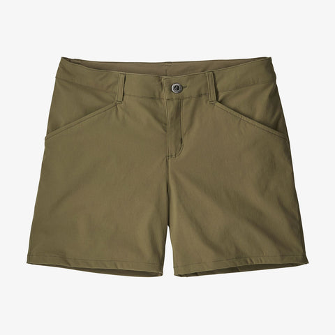 "Patagonia Women's Quandary Shorts - 5"" - Fatigue Green"