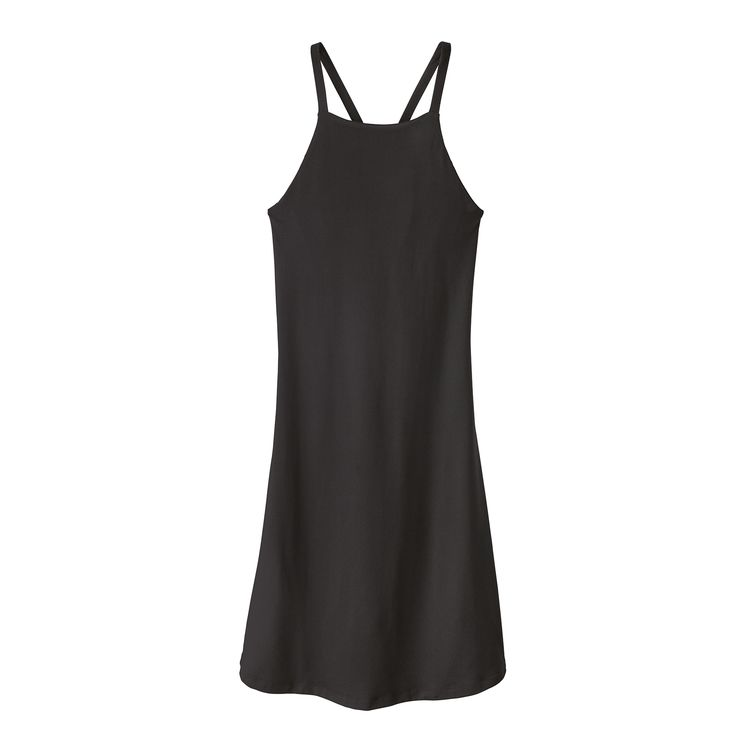 Patagonia Women's Sliding Rock Jersey Dress (Black) - Totem Brand Co.