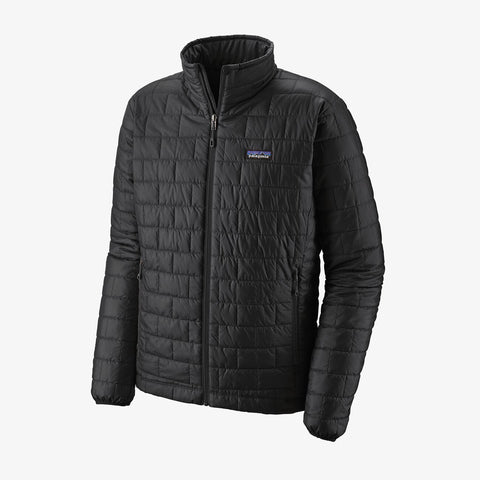 Patagonia Men's Nano Puff Jacket - Black - Totem Brand Co.