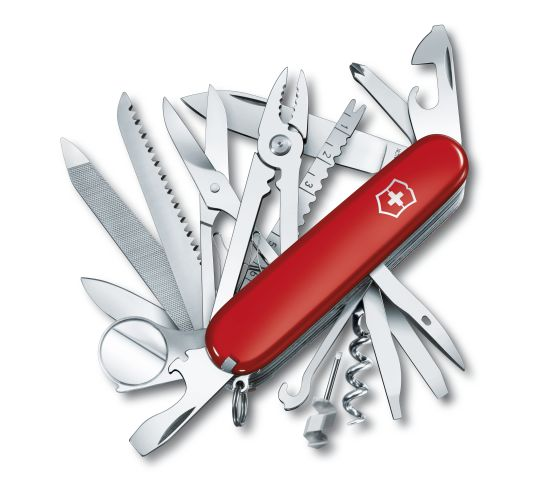 Victorinox Swiss Army Champ (Red) - Totem Brand Co.