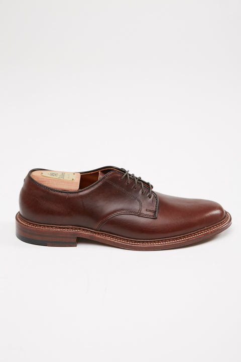 Alden Plain Toe Blucher Flex Dark Brown Aniline Pull-Up #29364F - Totem Brand Co.