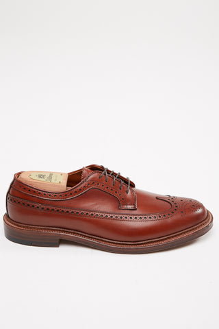 Alden Long Wing Burnished Tan #979