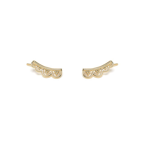 L'atelier Emma & Chloe - Hylana Gold Earrings