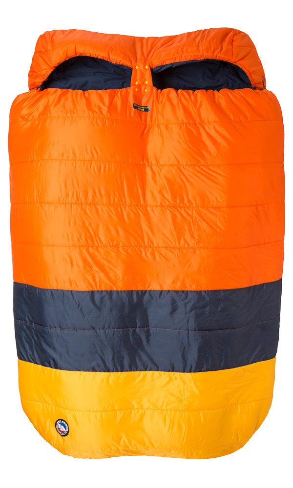 Dream Island 15˚- SYNTHETIC FILL BIG AGNES SYSTEM BAGS BUILT FOR TWO