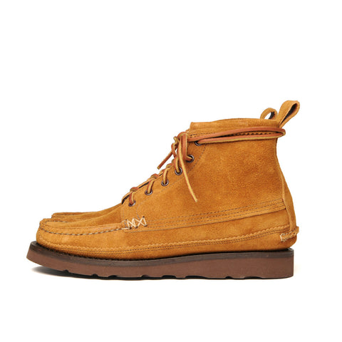 Yuketen #18105PM Maine Guide 6 Eye DB Boots - FO G Brown
