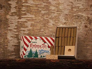 Paine's Incense Balsam Fir Logs & Holder - Totem Brand Co.