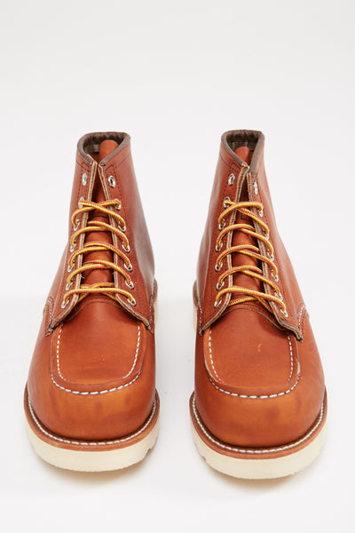 "Red Wing Men's 875 Classic Moc 6"" Boot Oro Legacy Leather"